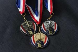 Médailles du tournoi Maserati